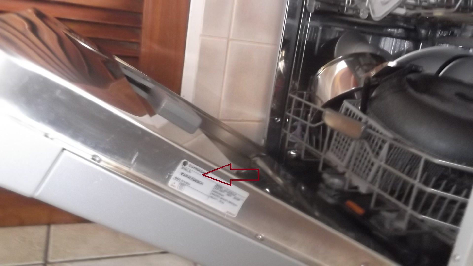 lg stove serial number location